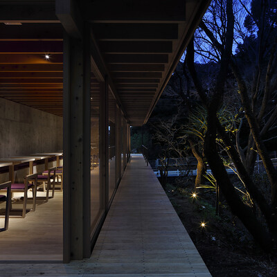 山﨑 健太郎 / YAMAZAKI KENTARO DESIGN WORKSHOP : Tea house in Atami thumbnail